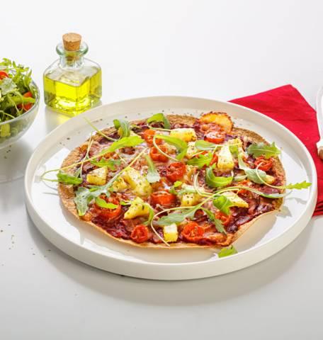 Pizza-wrap Hawaï
