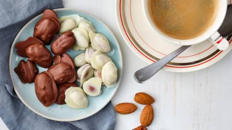 Snack de noix au chocolat