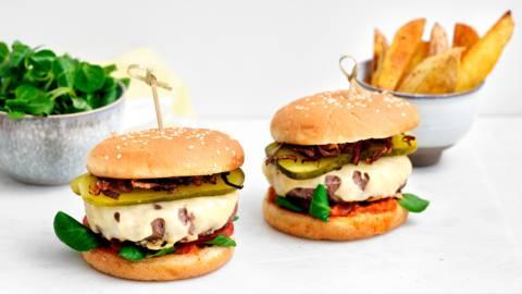 Hamburger à l'américaine