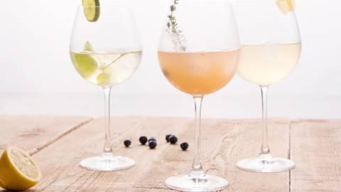 3 cocktails au champagne