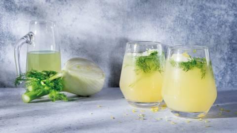 Mocktail pomme-anis