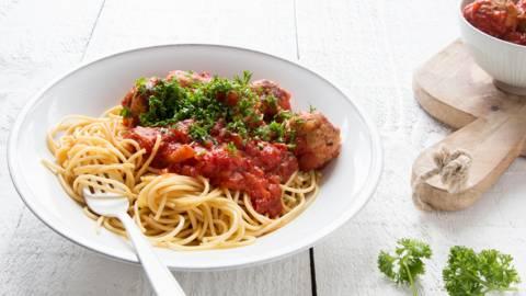 Boulettes italiennes à la sauce tomate