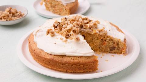 Cake aux carottes express