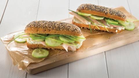 Sandwich multicéréale à la truite