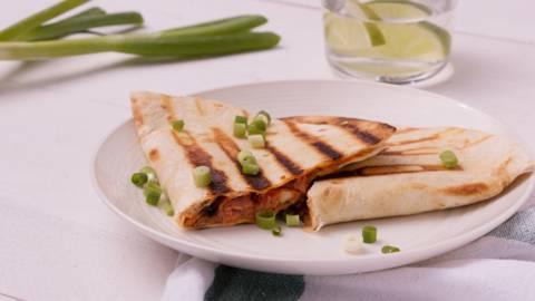 Tortillas sur le gril