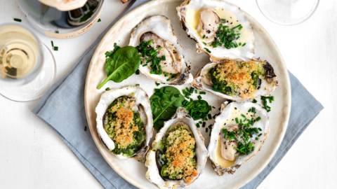 2 recettes d'huîtres festives