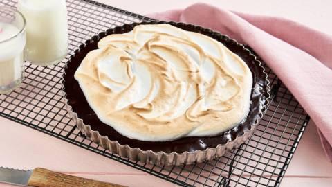 Gâteau chocolat-meringue