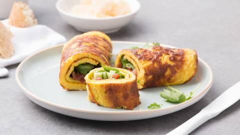 Wrap d'omelette