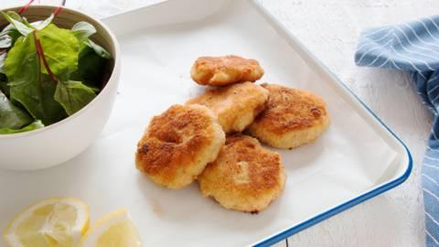 Biscuits au saumon et aux pommes de terre