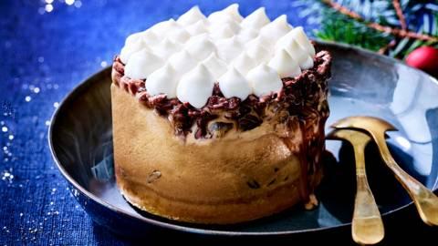 Gâteau glacé au tiramisu