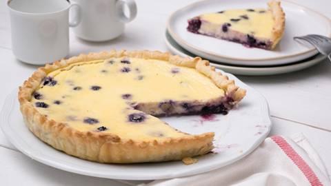 Cheesecake au citron et fruits des bois