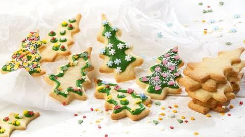 Biscuits de Noël décorés
