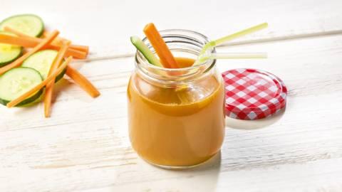 Jus de concombre-carotte biologique