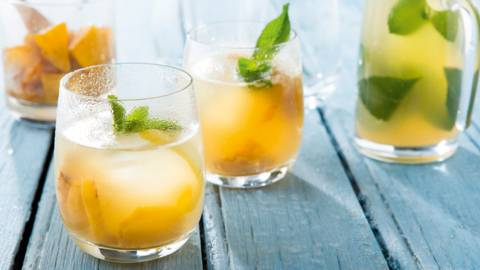 Limonade citron-ananas