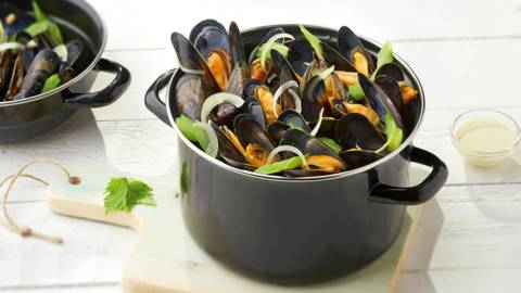 Moules nature