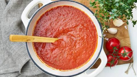 La vraie sauce tomate italienne classique