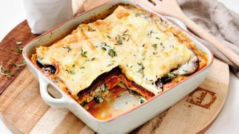 Lasagnes aux légumes réconfortantes
