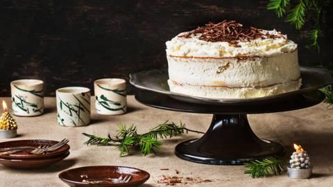 Gâteau léger au moka