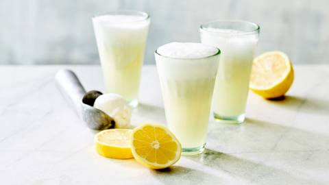 Sorbet au citron vert