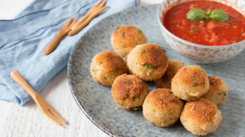 Boulettes de cabillaud sauce tomate