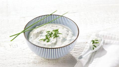 Sauce ail et yaourt saine