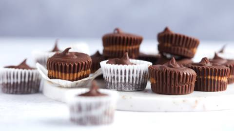 Coupelles de chocolat au spéculoos
