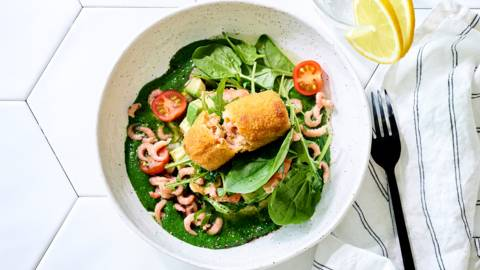 Croquettes aux crevettes gourmandes
