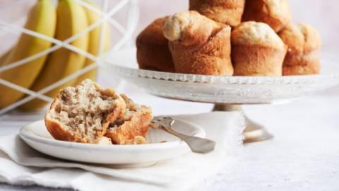 Muffins à la banane et au miel