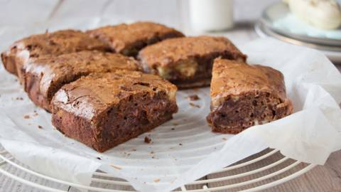 Brownie tricolore