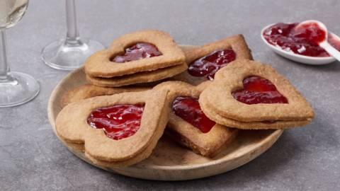 Biscuits d'amour pour la Saint-Valentin
