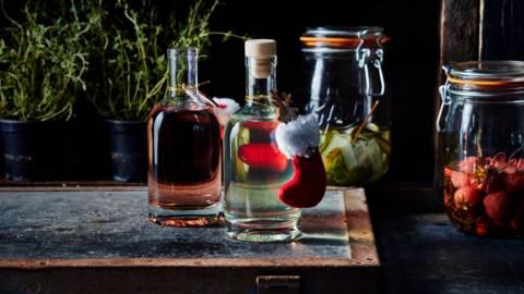 Gin à la fraise