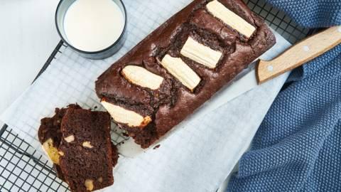 Cake au chocolat et à la banane