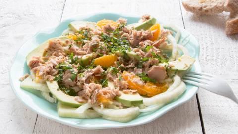 Salade de fenouil et thon