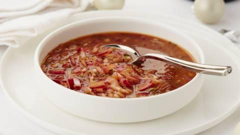 Sauce de gibier aux oignons rouges caramélisés