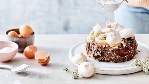 Gâteau de Pâques à la meringue