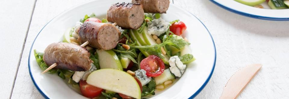 Salade estivale à la saucisse de campagne