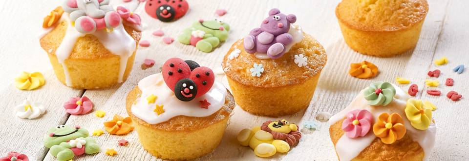 Petits cakes glamour