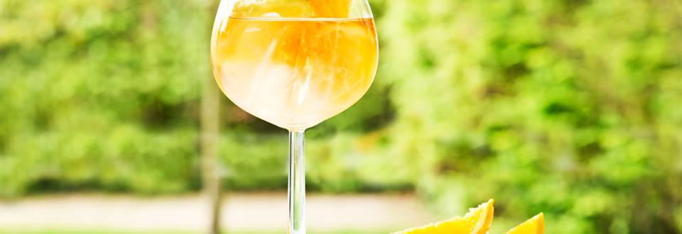 Mousseux au sorbet mangue et citron vert