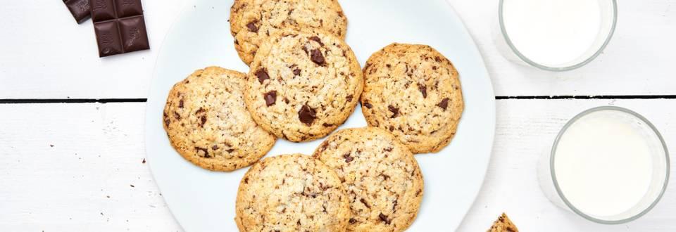 Chocolate chip cookies aux cornflakes