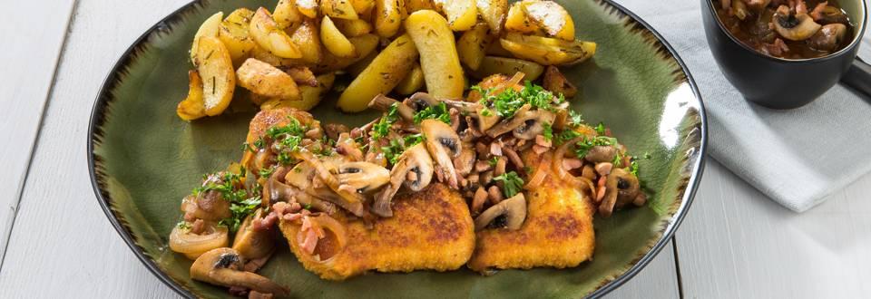 Escalopes de poulet panées façon 'Grand-mère'