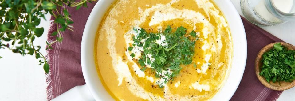 Soupe poireau-carotte