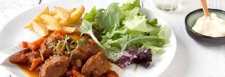 Carbonnades de bœuf à la Gauloise