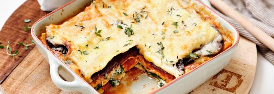 Lasagnes végétariennes réconfortantes