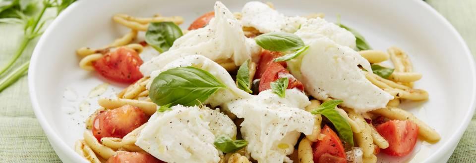 Salade de pâtes aux capunti alla puttanesca