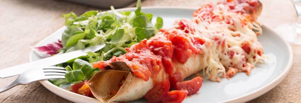 Enchiladas aux restes de légumes