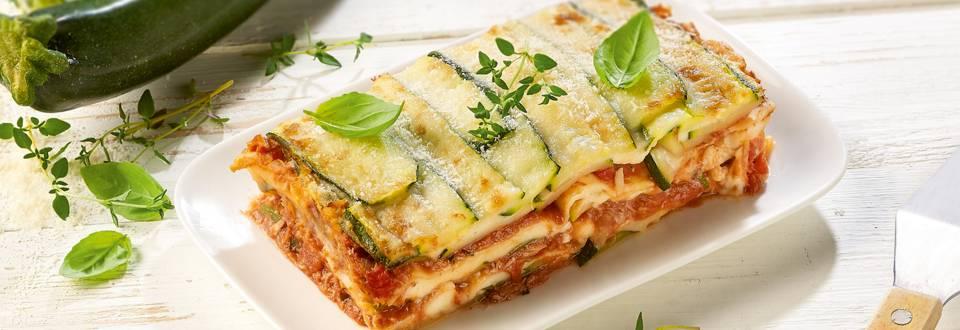 Lasagne aux courgettes et au thon