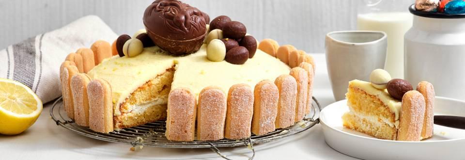 Gâteau au glaçage citron