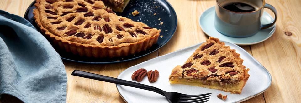 Gâteau maison aux noix de pécan