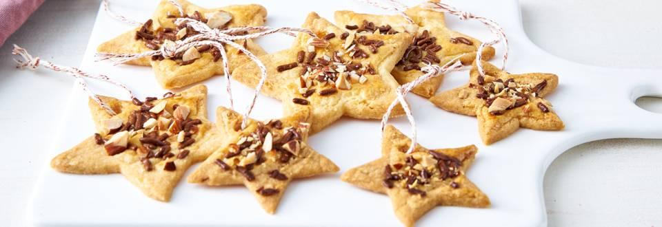 Etoiles de Noël (biscuits) pour le sapin