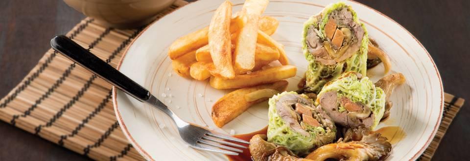 Filet de faisan au foie gras